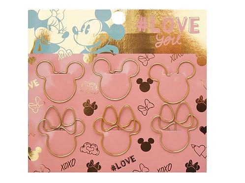 Maw Mickey&Minnie clips con formax 6 u.