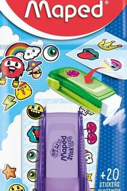 Gomas Maped stick bolsa + stickers x 1 u.