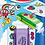 Thumbnail: Gomas Maped stick bolsa + stickers x 1 u.