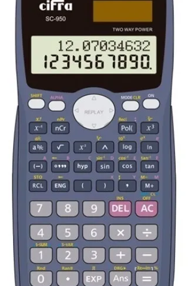 Calculadora Cifra cientifica SC 950