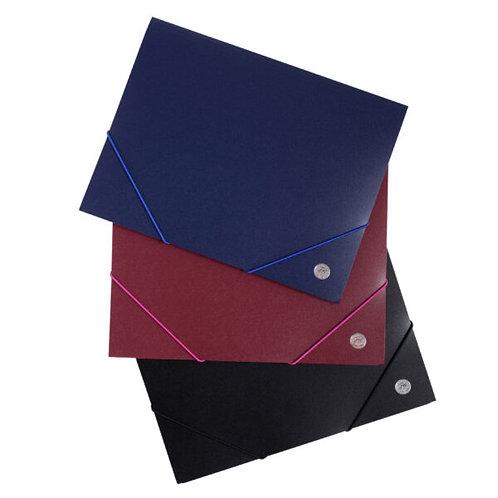 Carpeta con elastico 3 solapas FW Oficio x 1 u.