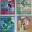 Thumbnail: Cuaderno Husares A4  pastel x 80 hjs c/esp