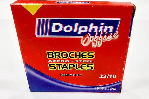 Broches Dolphin Nro 23/10  1000 broches  x 1 u.  Heavy