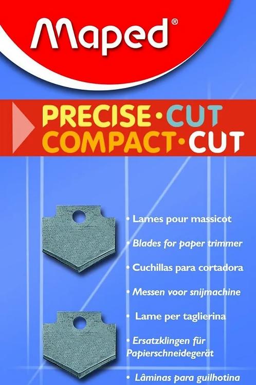 Repuesto para guillotina x 2 blister precise cut
