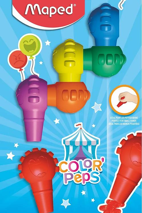 Crayones Maped baby 6 colores