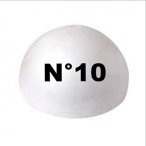 Esfera Telgopor N°10 p/armar x 1 u.