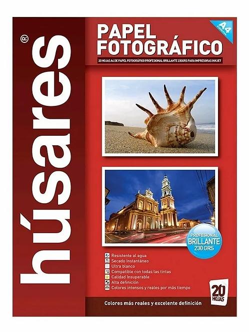 Papel fotografico Husares 230 gr. 20 hjs