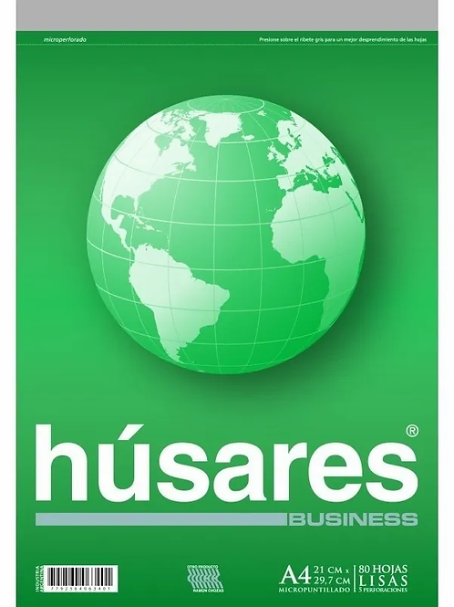 Block Husares Business A4 80 hjs. x 1 u.