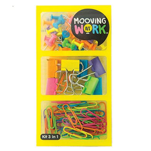 Kit 3 en 1 Mooving Yellow Maw