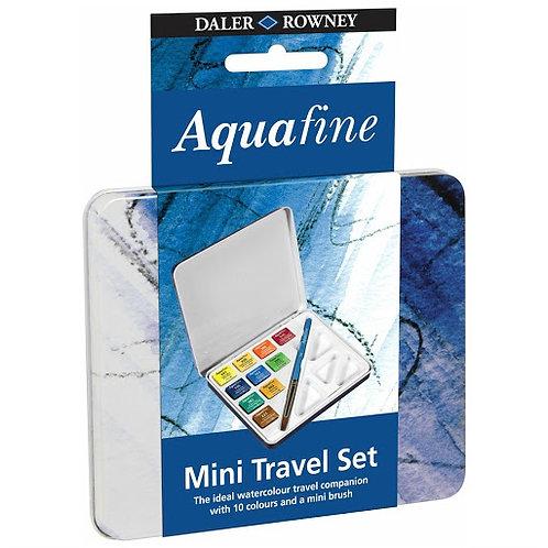 Acuarelas Daler Aquafine lata 10 colores