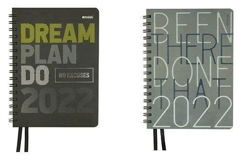 Agenda 2022 Mooving 15 x 21 cm. man