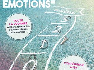 """Nous serons présents : """"Au coeur des émotions"""" - vendredi 10 mars - salle Georges Jouvin"""