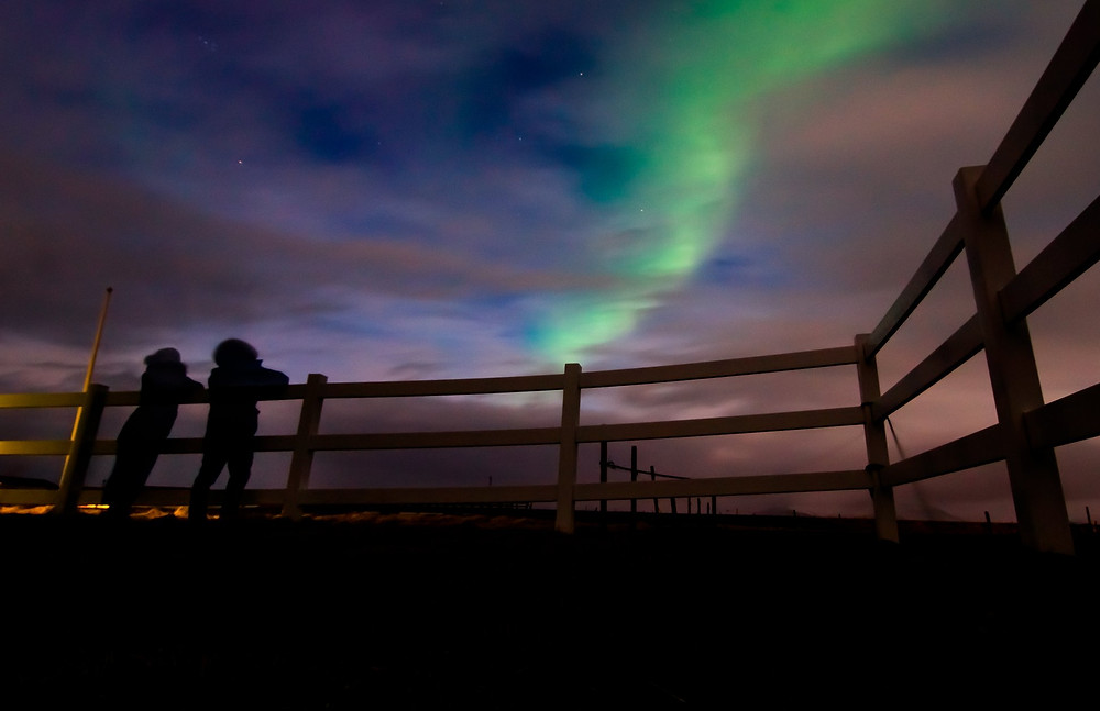 Iceland Northern Lights in March