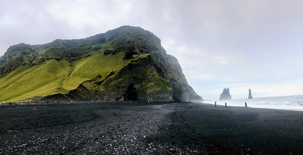 Reynisfjara beach in Iceland