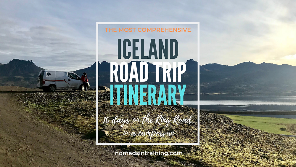 Iceland Campervan Road Trip Itinerary