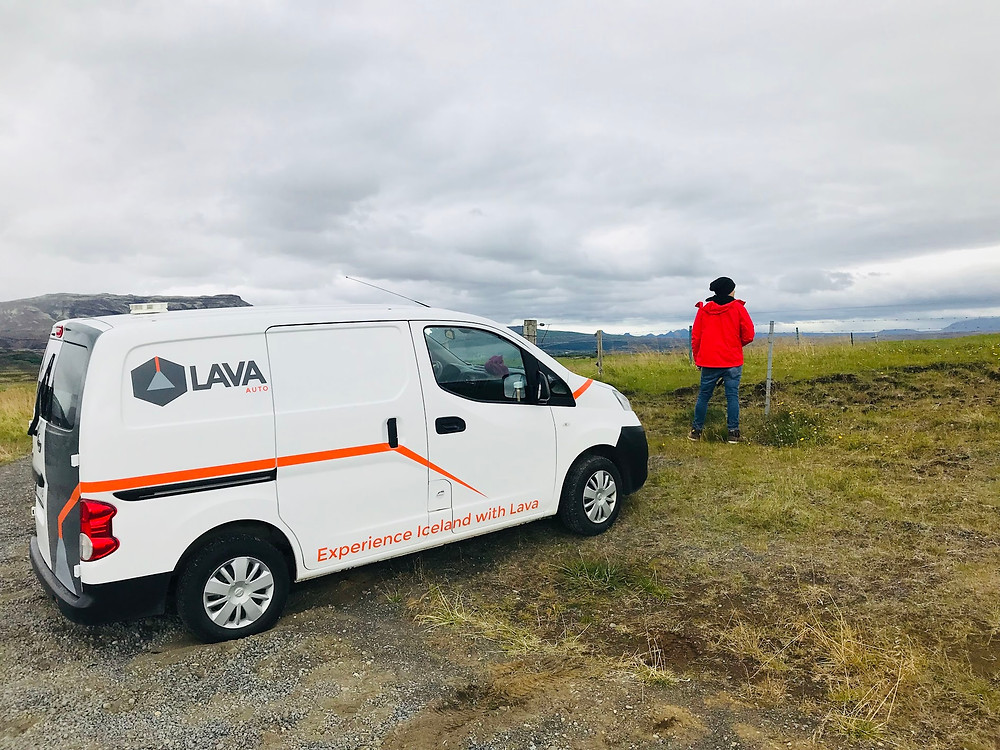 Campervan in Iceland