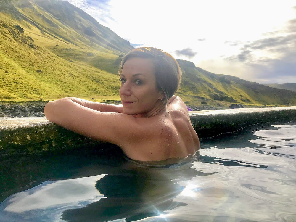 Seljavallalaug swimming pool in Iceland