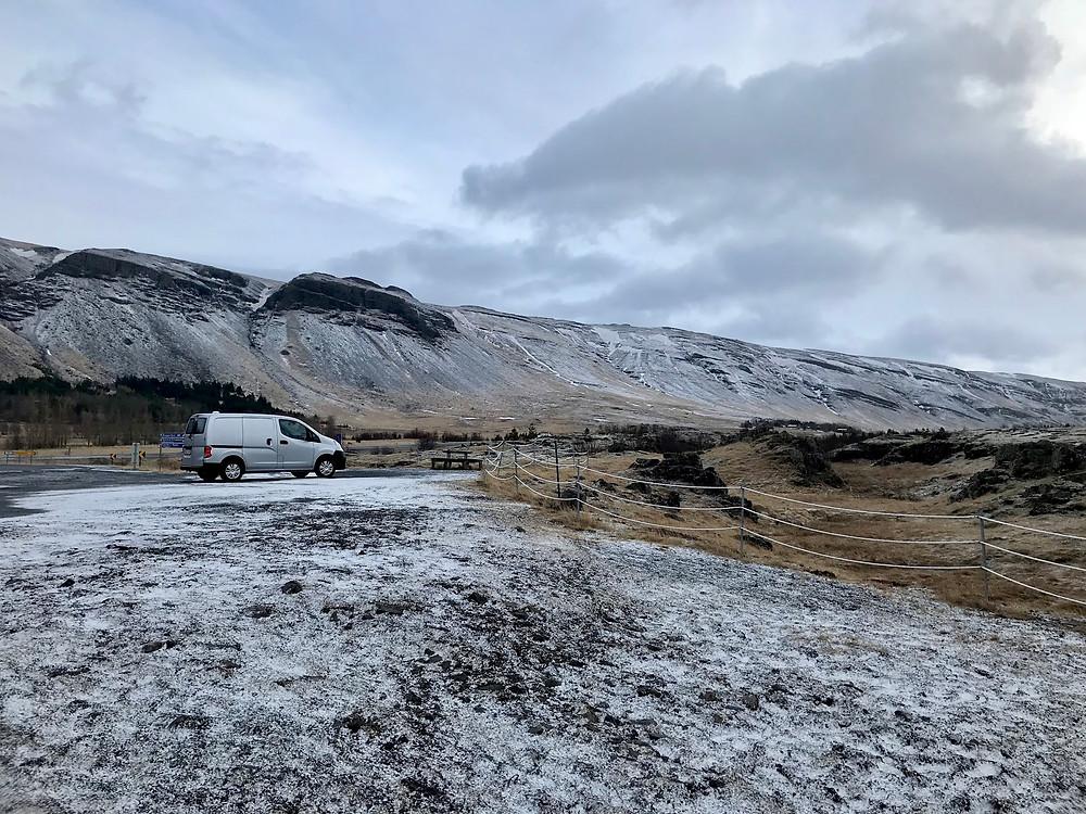 Campervan Iceland trip