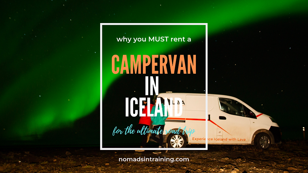 Rent campervan in Iceland