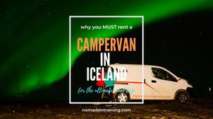 Rent campervan in Iceland
