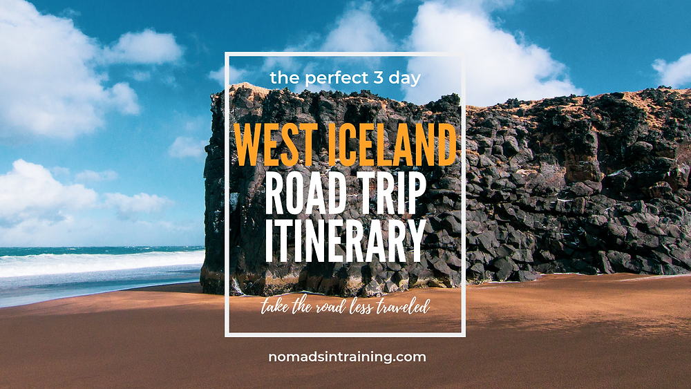 West Iceland Road Trip Itinerary