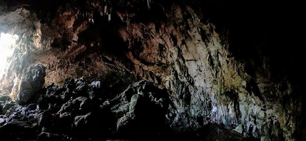 Cueva de la Línea in Los Haitises National Park