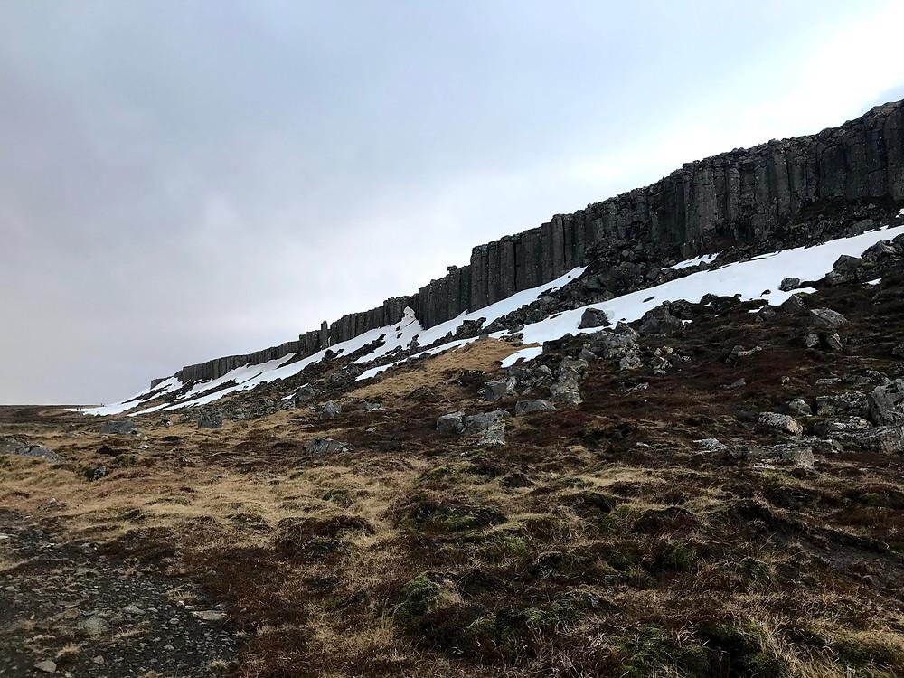 Gerðuberg basalt cliffs
