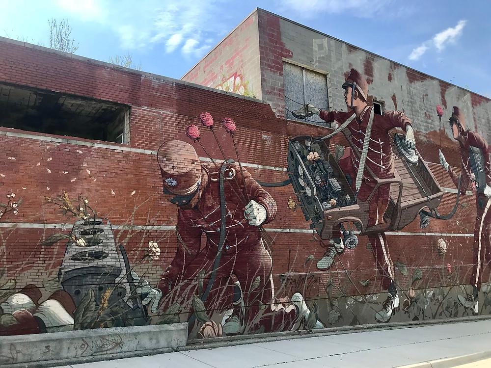 Detroit's street art mural
