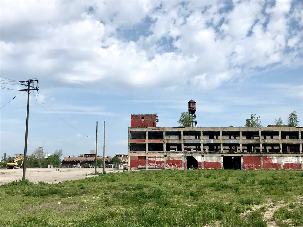 Abandoned building in Detroit