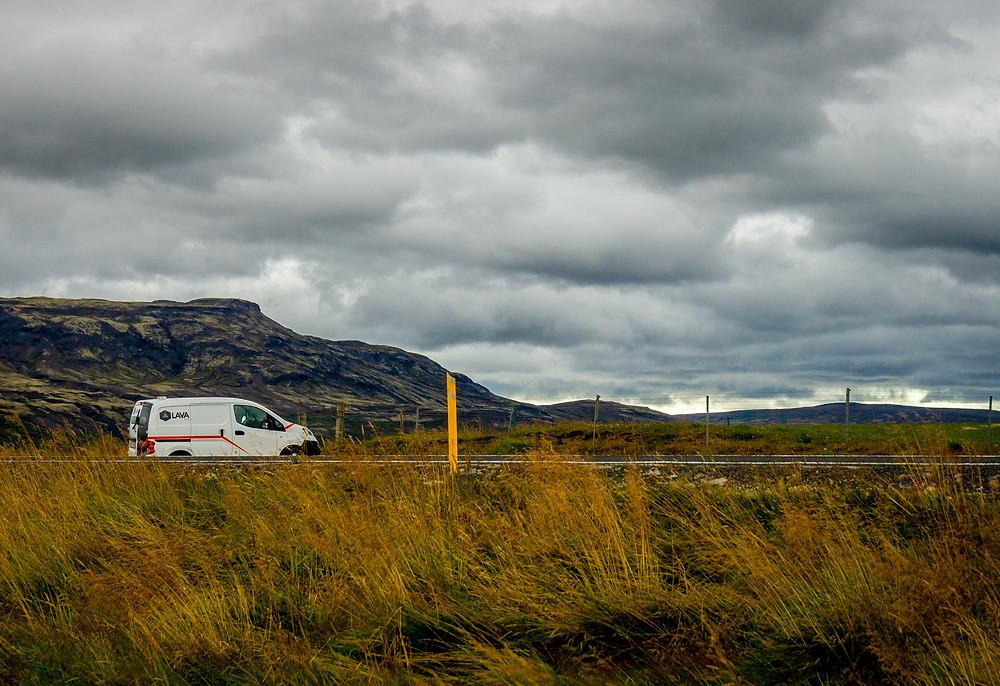 Campervan rental in Iceland
