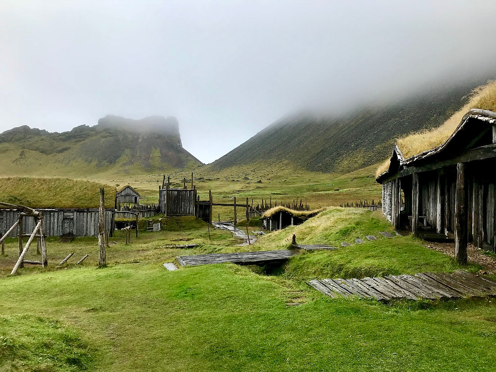 Viking Village in Iceland