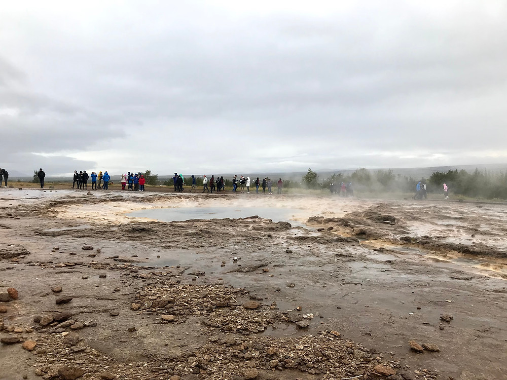 The Great Geysir in Iceland