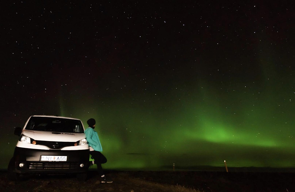Campervan rental in Iceland