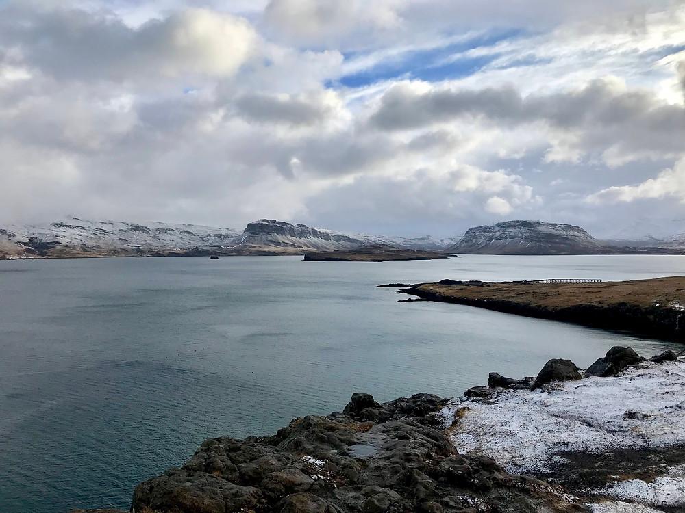 Hvalfjörður fjord in Iceland
