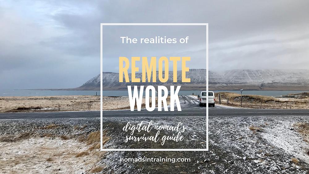 Digital nomad's survival guide for remote work