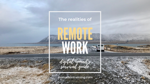 Digital nomad's survival guide for remote work