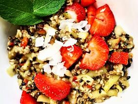 leckeres, schnelles, veganes Frühstück