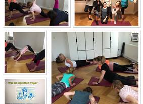 """Yoga-Workshop in den Räumlichkeiten von""""Das Trainingsmoment"""""""