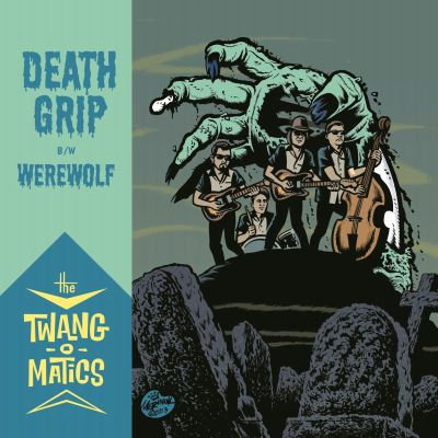 """7"""" DEATH GRIP / WEREWOLF"""