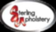 Sterling upholstery oval logo