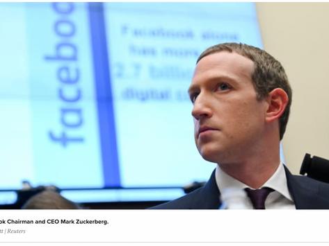 Facebook bans Australian news