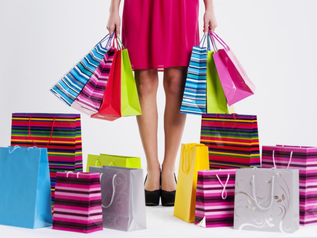 Living with a shopping addiction