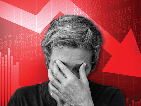 The market is crashing! Am I losing my retirement money?