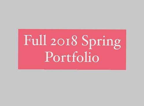 Full 2018 Spring Portfolio