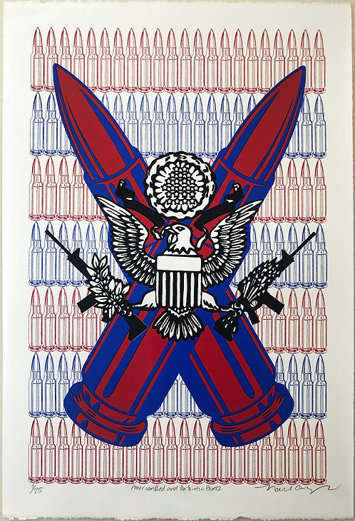 "Nabil Gonzalez ""American Red and Patriotic Blue 22"""