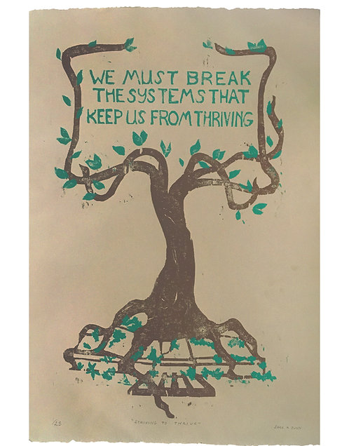 "Sara K. Dunn ""Striving to Thrive"""