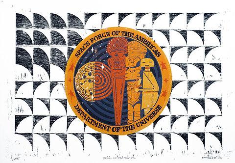 "Enrique Figueredo ""Official U.S. Space Force Seal"""