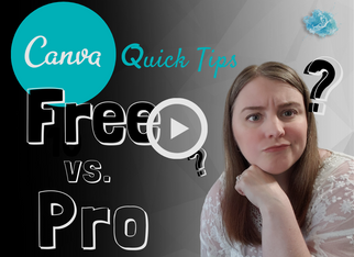CANVA QUICK TIPS: Introduction to Canva (Free vs Pro) tutorial