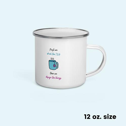 Enamel Mug Tea