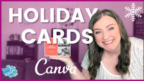 How to make a Holiday Card in Canva for 2020 | Christmas card tutorial + printing resources